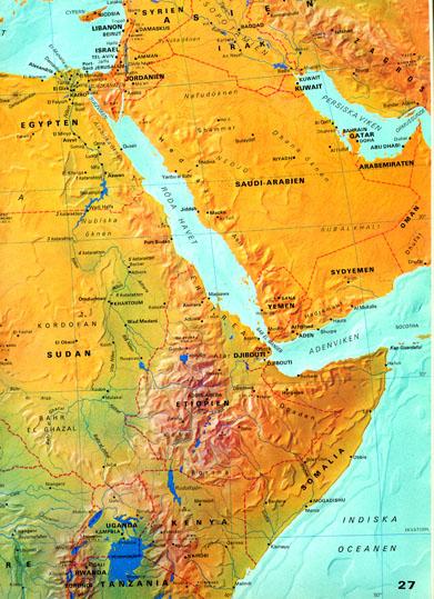 döda havet karta vargar Nordens ark döda havet karta